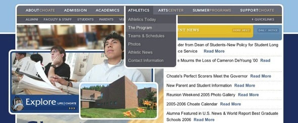 View Information about Choate Rosemary Hall