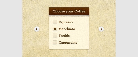 View Information about Choose Your Coffee