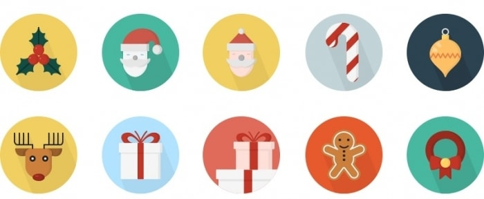 View Information about Christmas Icons