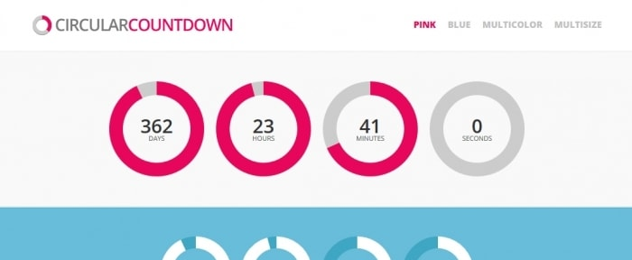 View Information about Circular Countdown WordPress Plugin