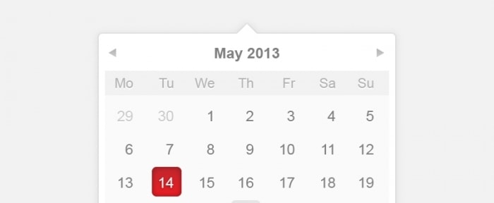 View Information about Clean Calendar Design