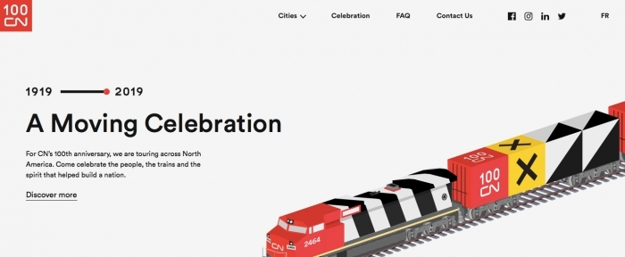View Information about CN100 A Moving Celebration