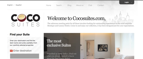 View Information about Coco Suites