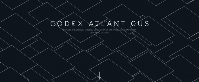 View Information about Codex Atlanticus