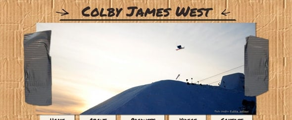 View Information about Colby James West