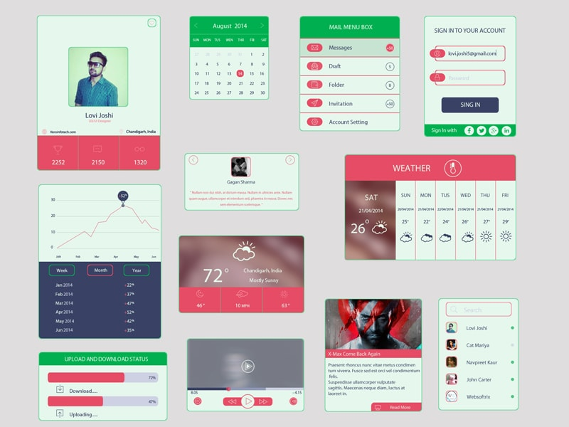 Go To Colored UI Kit