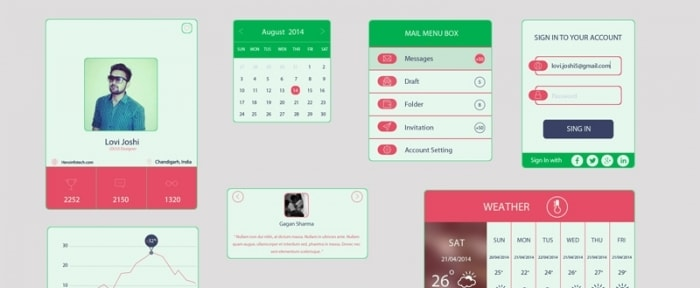 View Information about Colored UI Kit