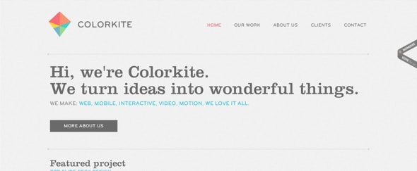 View Information about Colorkite Interactive