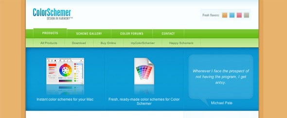 View Information about Color Schemer
