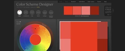 View Information about Colour Scheme Designer