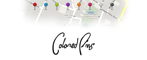 View Information about Coloured Pins