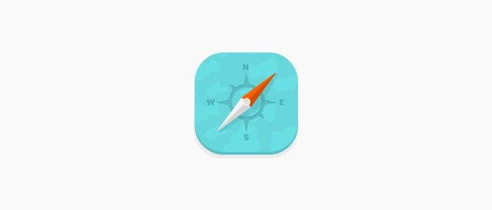 Go To Compass Icon
