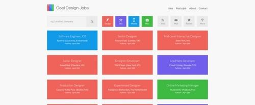 View Information about Cool Design Jobs