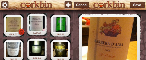 View Information about Corkbin