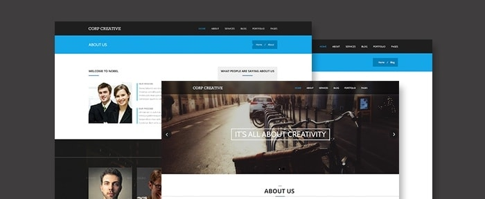 View Information about Corporate Creative PSD Template