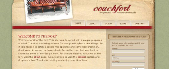View Information about Couchfort