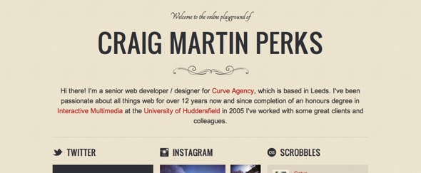 View Information about Craig Martin
