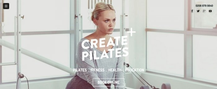 View Information about Create Pilates