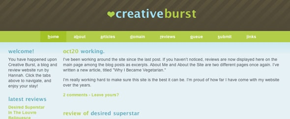 View Information about Creativeburst