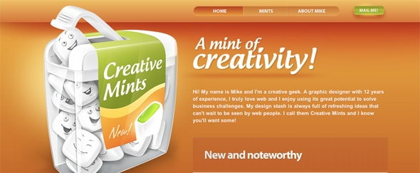 View Information about Creative Mints