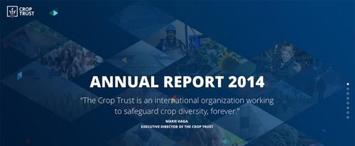 View Information about Crop Trust Annual Report