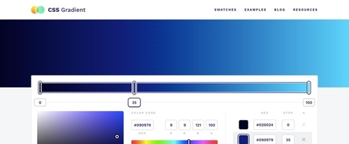 View Information about CSS Gradient