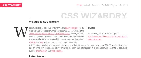 Go To CSS Wizardry