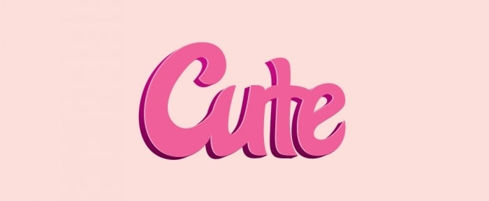 Go To Cute Typography