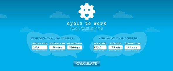 Go To Cycle to Work Calculator
