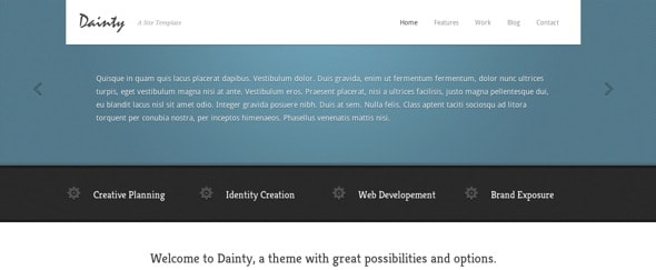 View Information about Dainty