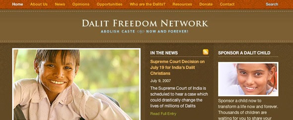 View Information about Dalit Freedom Network
