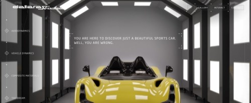 View Information about Dallara Stradale