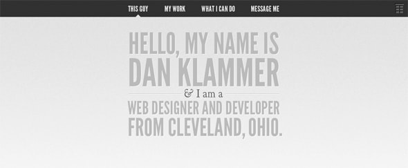 View Information about Dan Klammer