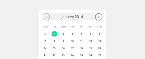 View Information about Date Picker