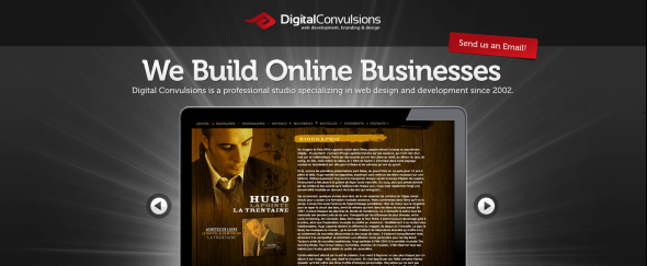 View Information about Digital Convulsions