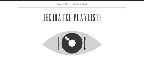 View Information about Decorated Playlists