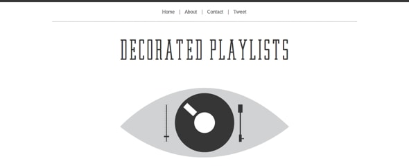 Go To Decorated Playlists