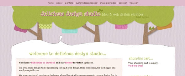 View Information about Delicious Studio