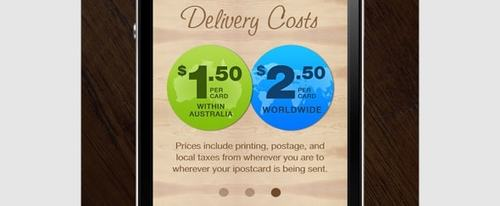View Information about Delivery Costs