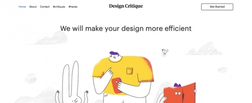 View Information about Design Critique
