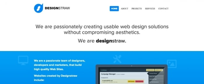 View Information about Design Straw