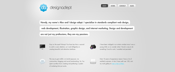View Information about Design Adept