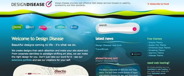 View Information about Designdisease