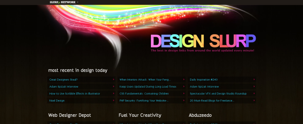 View Information about Design Slurp