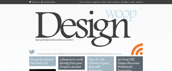View Information about Design Woop