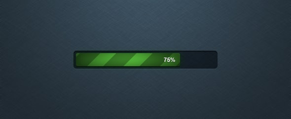 Go To Detailed Progress Bar PSD
