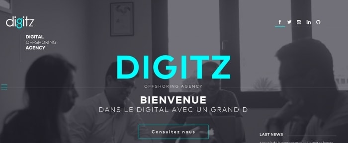 View Information about Digitz