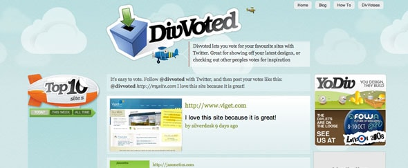 View Information about Divvoted