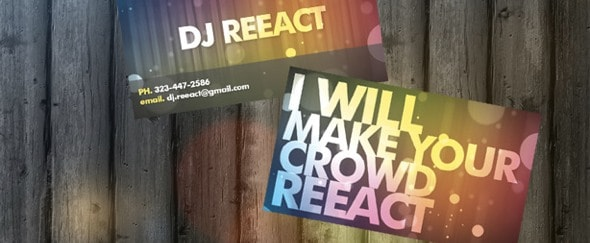 View Information about DJ Reeact