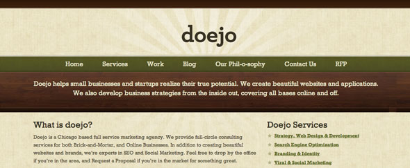 View Information about Doejo